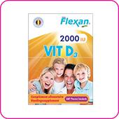 ویتامین D 2000 فلکسان